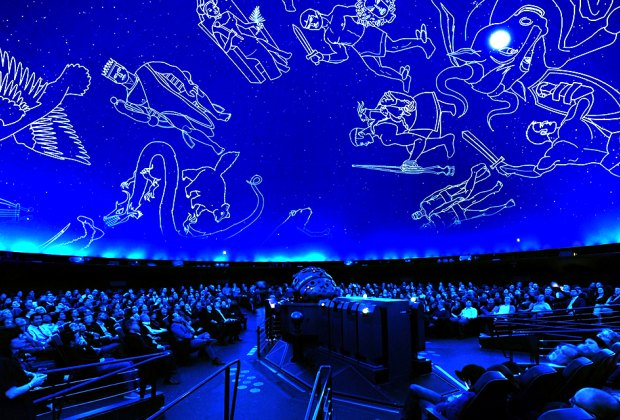 Astrophysics is brought to life at the Hayden Planetarium. Photo courtesy of AMNH