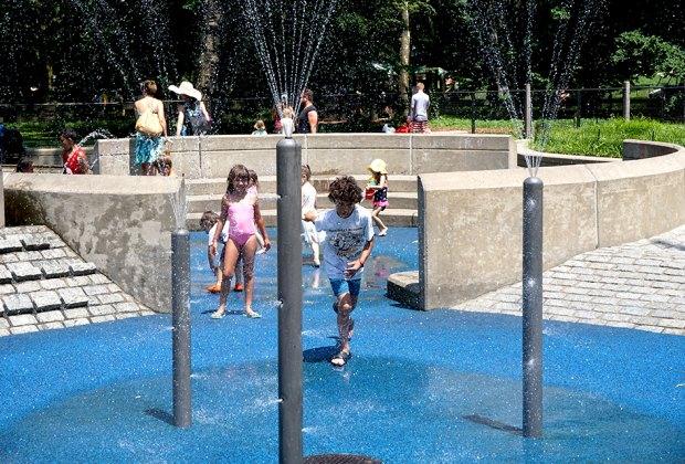 Heckscher Playground is Central Park's oldest playground