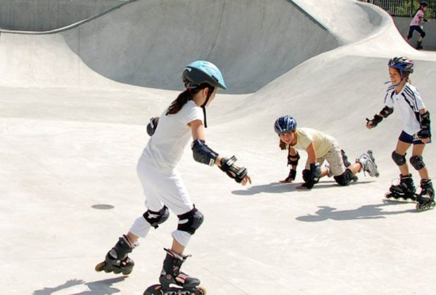 Hit the Pier 62 skate park for a Californa cool vibe