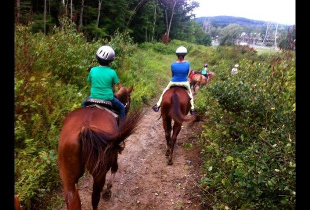 Horseback Riding at Fernwood