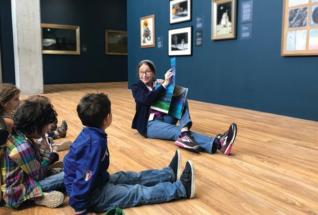 The museum offers a variety of engaging, family-friendly activities.
