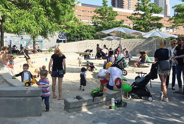 Best Hudson River Park Playgrounds and Piers for Families