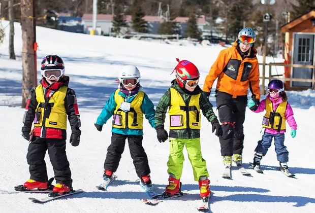 Hunter Mountain's Learning Center is a one-stop teaching facility for skiers of all ages, especially children.
