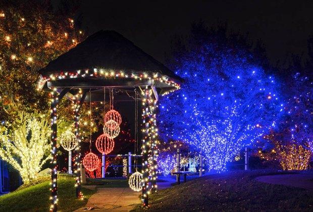 ice lights nova parks dc - Meadowlark's Winter Walk Of Lights Meadowlark Botanical Gardens December 28