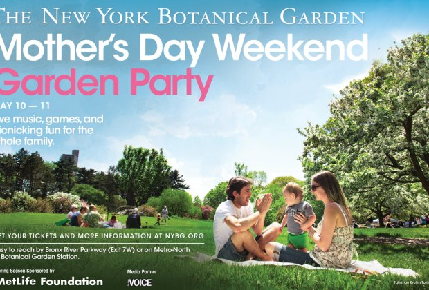 Celebrate mother 39 s day at the new york botanical garden for Things to do in new york in one day
