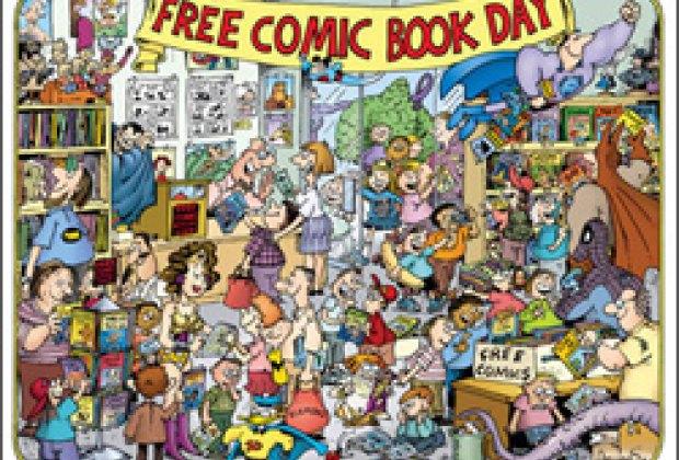 News: Free Comic Books, Free e-reader Rentals, Wildflowers