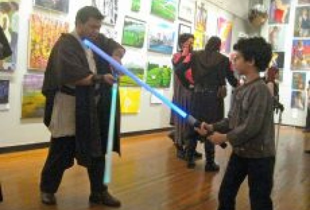 Nyc Kids Get Jedi Master Training At Saber Kids Classes