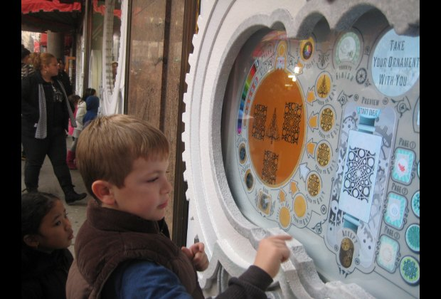Design your own digital ornament at Macy's