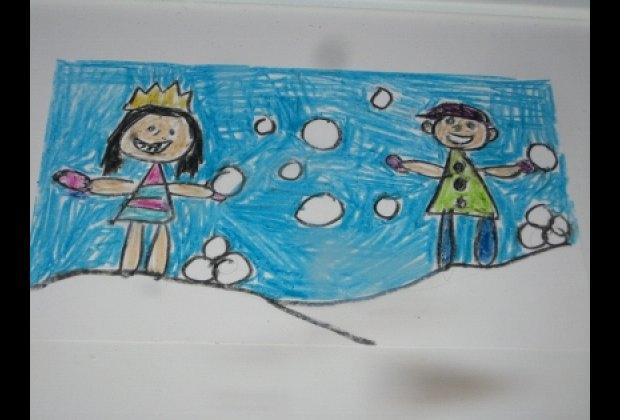 NYC school kids' joyful art at Lord & Taylor