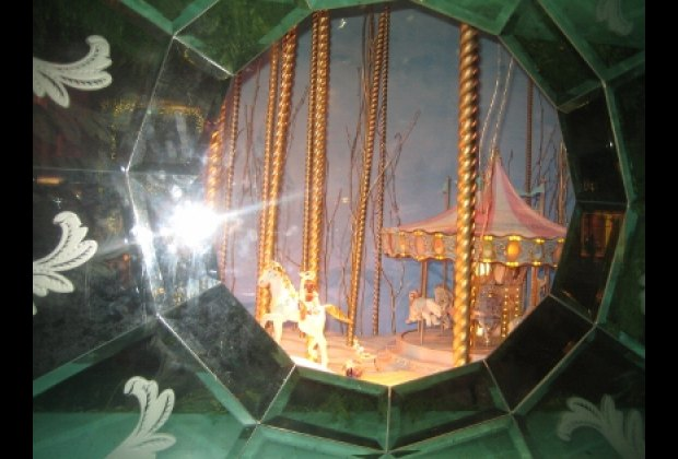 A porthole at Tiffany & Co.