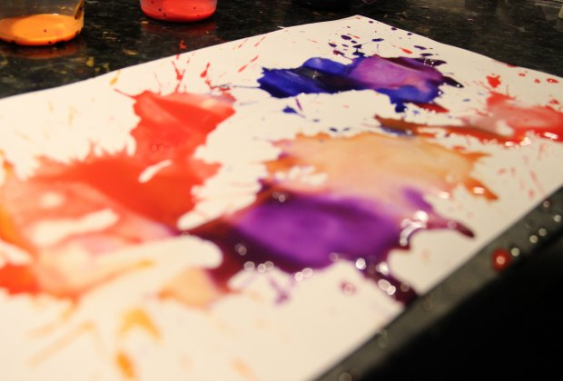 Things To Do In Westchester Today >> WeeWork Kids Craft: Straw Blown Painting | Mommy Poppins ...
