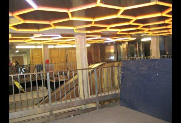 Hive lights up Bleecker Street's uptown 6 subway station