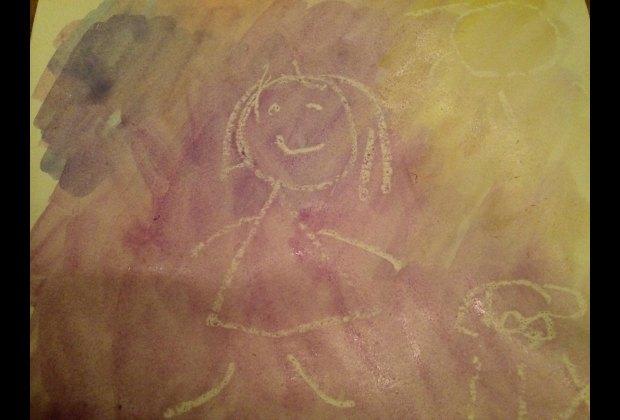 Weework Kids Craft Crayon Resist Watercolor Painting Mommypoppins