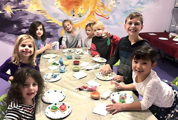 Choose from a variety of art activities for a birthday party at Art XO Studio in Irvington. Photo courtesy of the studio
