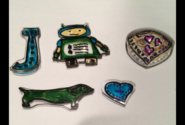 Weework Kids Crafts Awesome Homemade Shrinky Dinks Mommypoppins