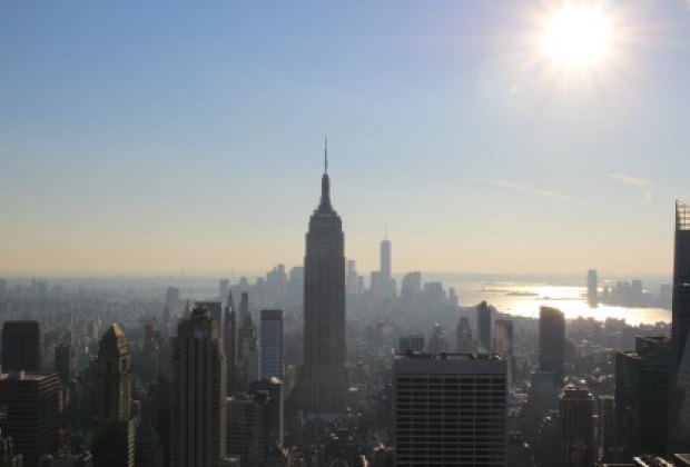 Enjoy unobstructed views of many NYC landmarks like the Empire State Buliding...