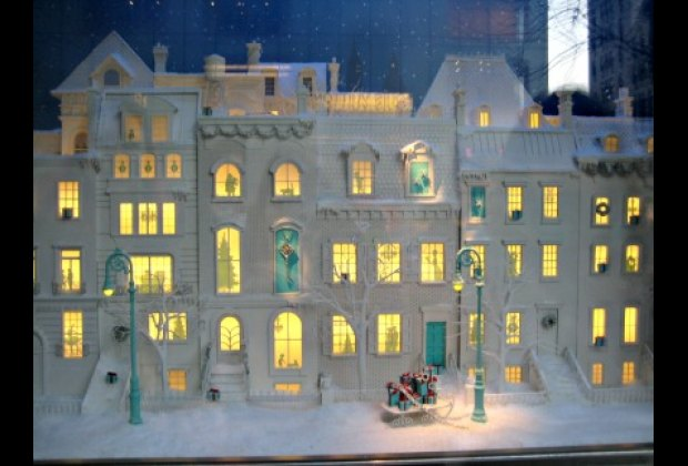 Tiffany's dollhouses are ready for the holidays