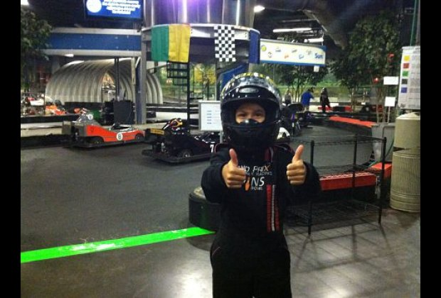 Ready to race!