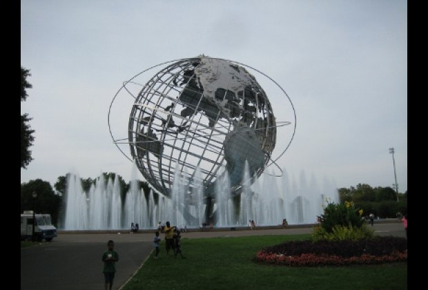 The iconic Unisphere
