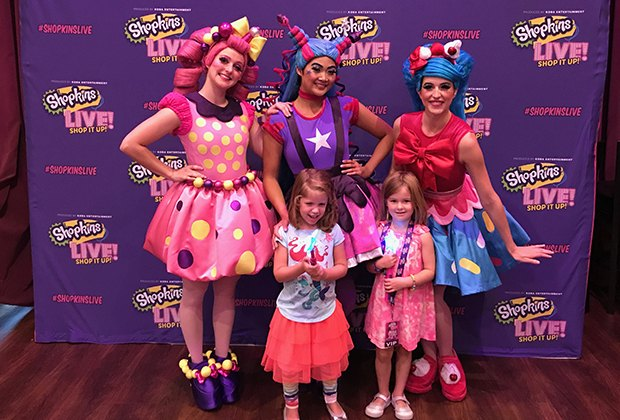 Shopkins live review the shoppies shop it up onstage mommypoppins the vip package comes with a meet and greet with the shoppies m4hsunfo