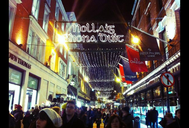 Christmas In Dublin Ireland.Christmas In Dublin Old World Charm And Family Fun In