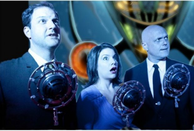 The vocally versatile cast of The Intergalactic Nemesis play a ton of different characters