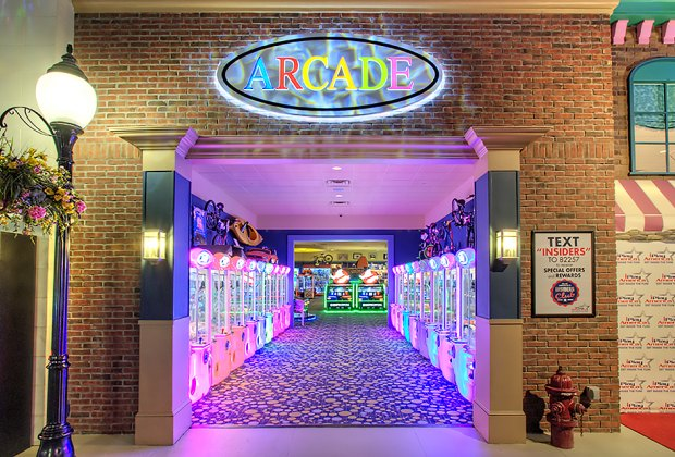 Enter the massive arcade at iPlay America for hours of fun.
