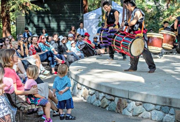 Japanese Garden Festival. Photo by Martha Benedict courtesy of Descanso Gardens