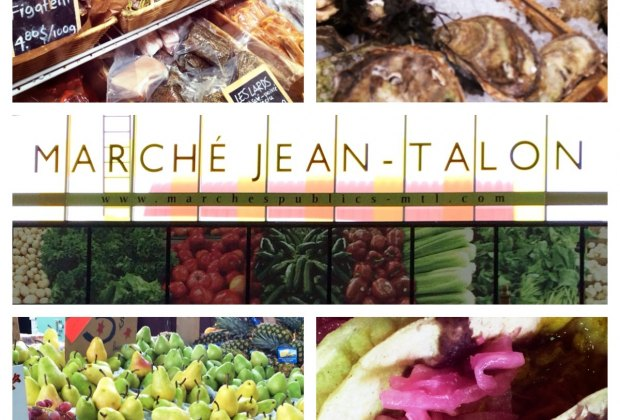 The many stalls of Jean Talon Market