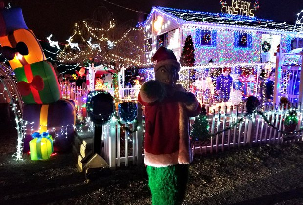 Christmas Lighting.Best And Brightest Christmas Light Displays In New Jersey