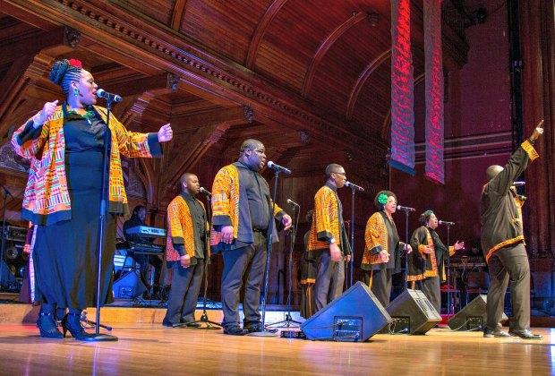 Joyful Noise Concert with the Harlem Gospel Choir. Photo by Caitlin O'Brien