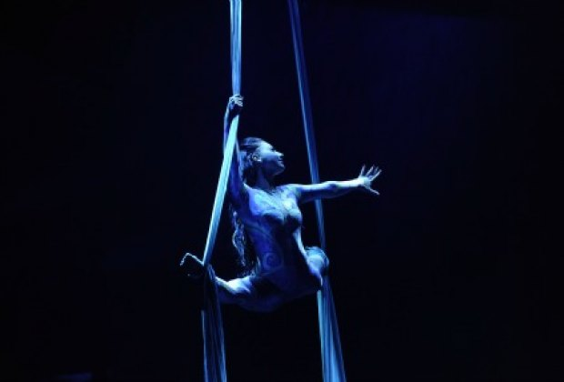 The single-named Katerina is captivating on the silks