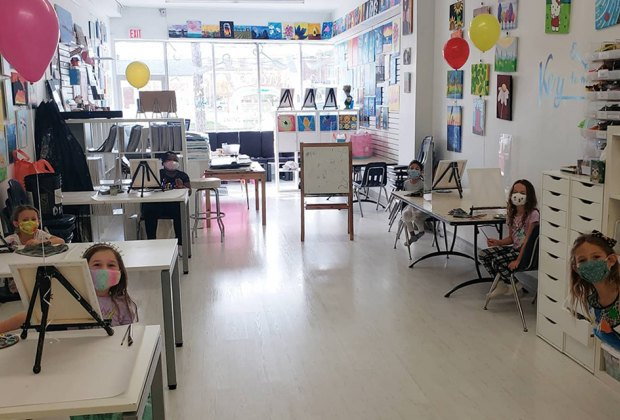 Key to My Art offers arts and crafts classes for kids on Long Island