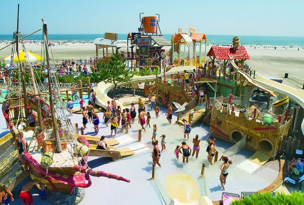 There's lots to explore at Shipwreck Shoals at Morey's Pier and Water Park. Courtesy of the park