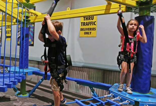 Zip Lines And Adventure Ropes Courses For Kids In And