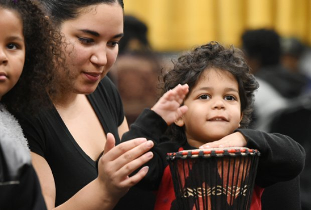 Take part in music, dance, and crafts at NJPAC's Kwanzaa Festival. Photo courtesy of NJPAC.