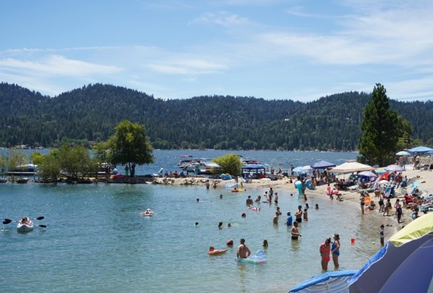 Best Things To Do with Kids in Lake Arrowhead: Swim in the Lake