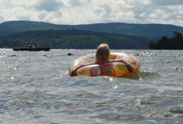 Endless fun on Lake George