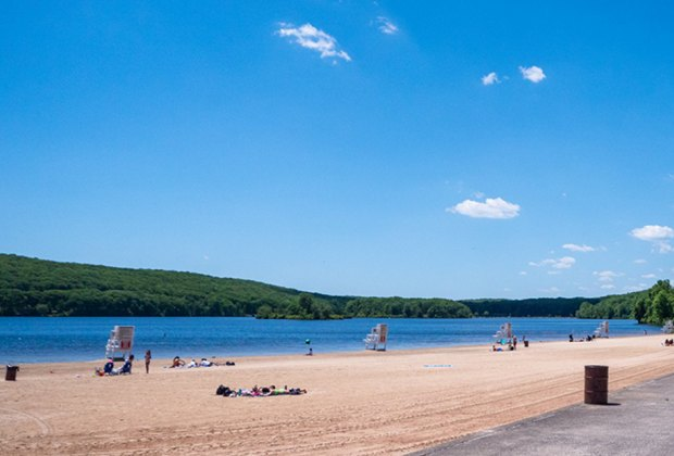 Lake Welch in Harriman State Park