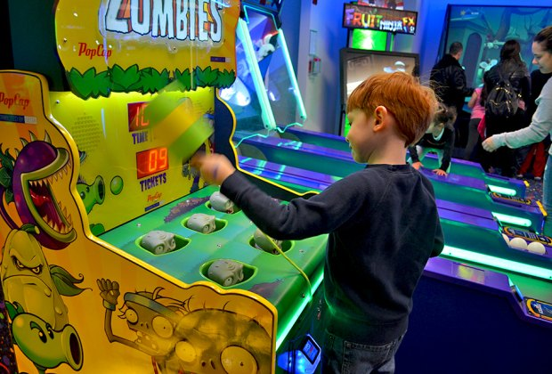 9 Nyc Arcades For Kids Birthday Parties Mommypoppins