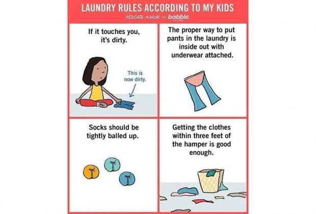laundry rules meme