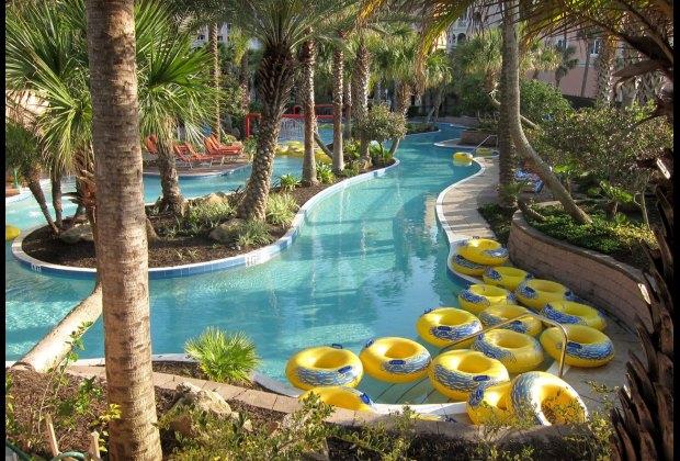 Lazy River At Hammock Beach Resort Palm Coast