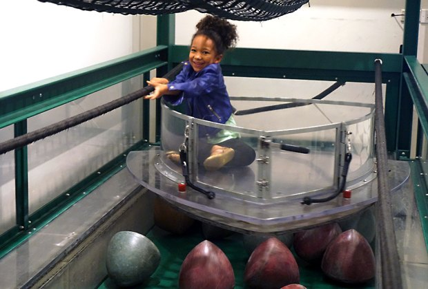 MoMath is wall-to-wall with interactive STEM activities kids really enjoy.