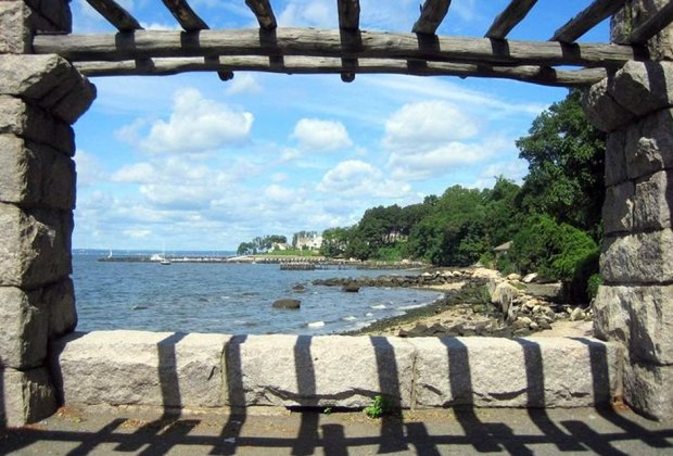 Morgan Memorial Park sits on the shore of Long Island Sound in Glen Cove. Photo courtesy of the park