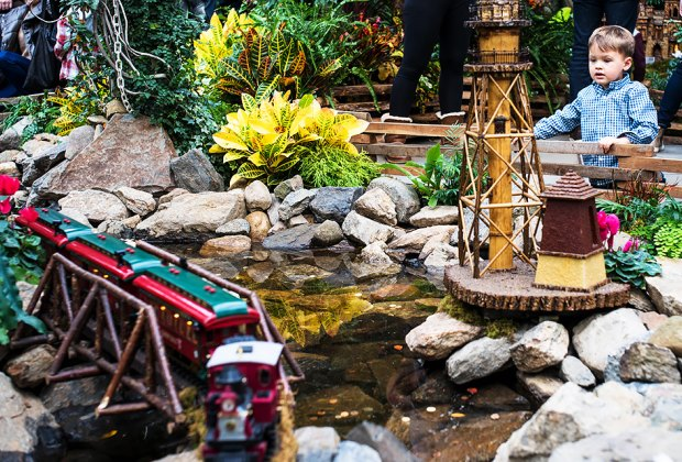 The NYBG Holiday Train Show: What's New in 2018