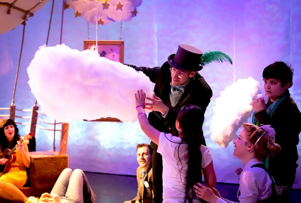 Up and Away is part of Lincoln Center's Big Umbrella Festival for children on the autism spectrum. Photo by Alexi Buatti-Ramos
