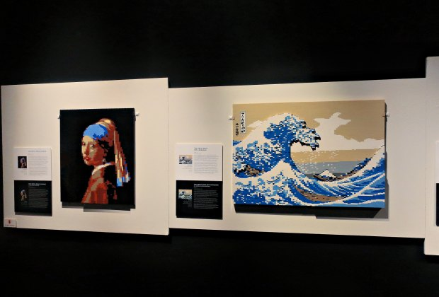 The Art of the Brick Is Back at the Science Center: See works of art