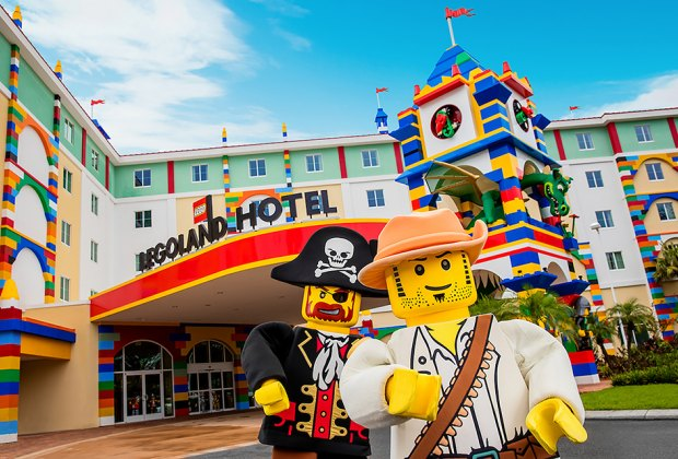 Meet Lego character at Legoland New York's Hotel when it opens