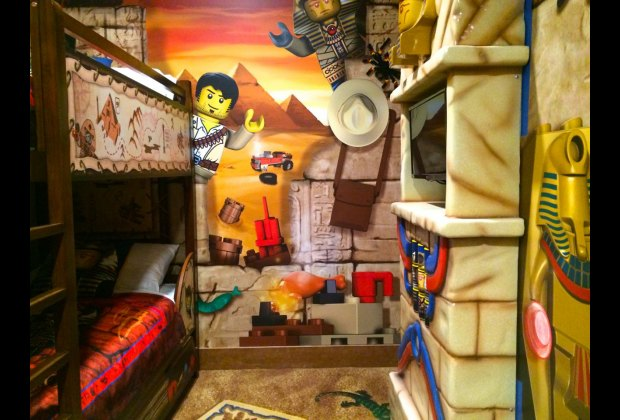 When My Son Stepped Inside He Exclaimed That It Was The Most Awesome Hotel Room D Ever Seen And Proceeded To Explore Lego Models Children S Area