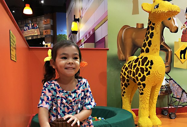 Build, play, and explore at Legoland Discovery Center in Yonkers. Photo by Janet Bloom